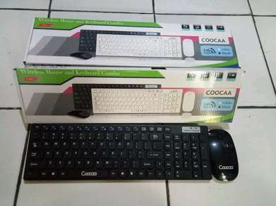 kyboard wireless + mouse murahh