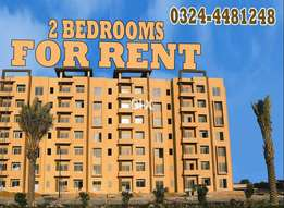 2 Bedrooms Corner Apartment - Tower 1 For Rent Bahria Town Karachi