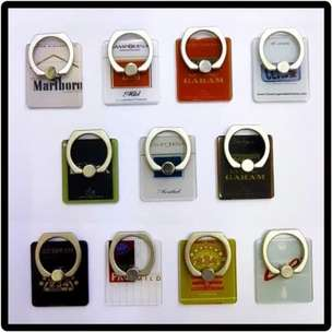 Holder Ring Hp / Tab/Ipad Universal Ring Holder Ring Stand Motif Rokok