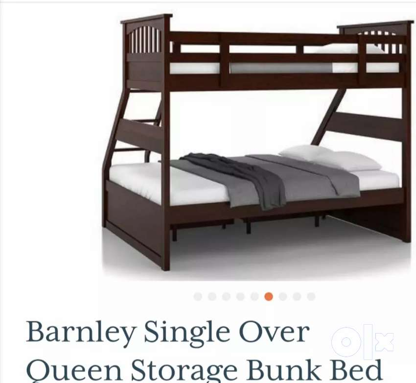 Queen Size Bunk Bed With Storage Beds Wardrobes 1612272354