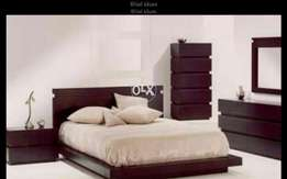 Wooden bed125