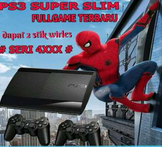 Ps 3 superslim HDD 500gb full game