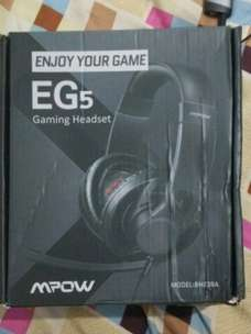 Headset Gaming Mpow EG5 Like New