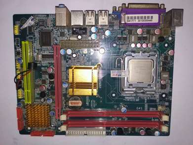 mobo g41 + proc xeon 5148 + headsink fan DDR 3