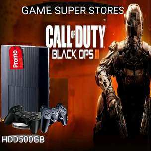 ps sony ps 3 hardis 500gb super slim + 2 stik