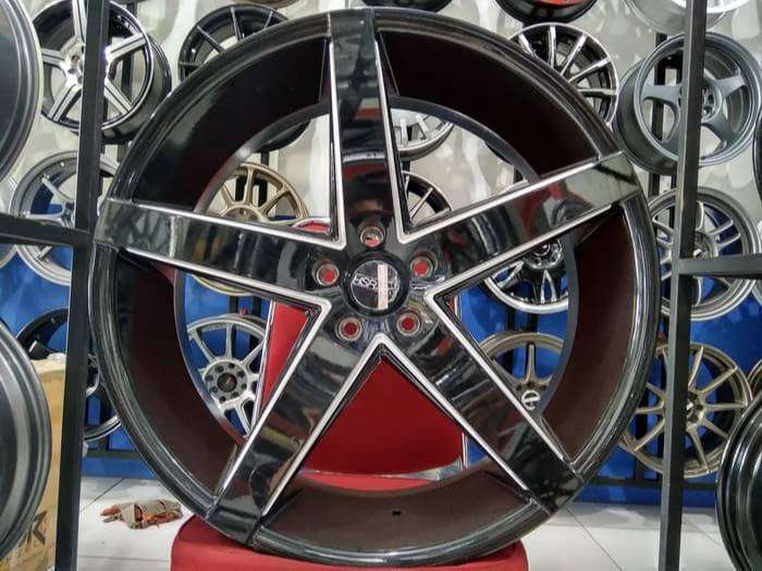 Velg Racing Mobil Ring 22 Hsr Wheel Model Boost Palang 5