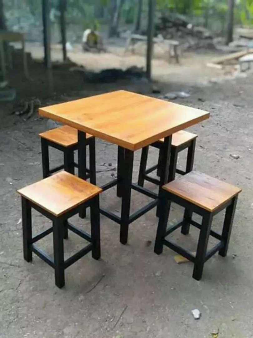 Meja Kursi Cafe Kedai Kopi Yang Unik Mebel 796329948