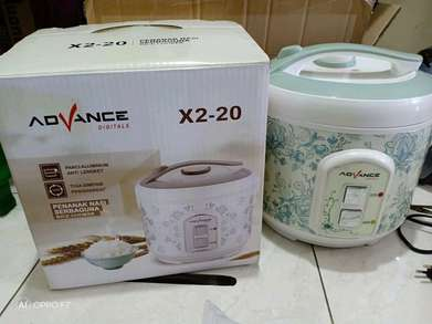 diantar kak penanak nasi serbaguna/magic com advance X2-20 1,8Liter