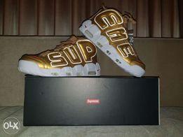 sale retailer 4ccbb 1af1f Nike Supreme Air More Uptempo
