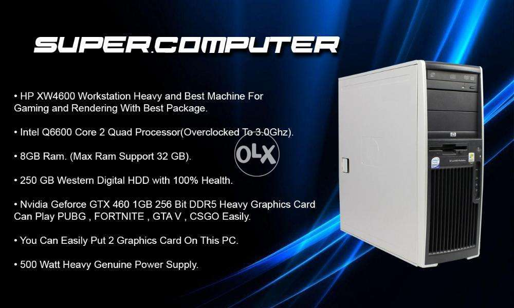 HP XW4600 Heavy Machine Best For Gaming - Computers