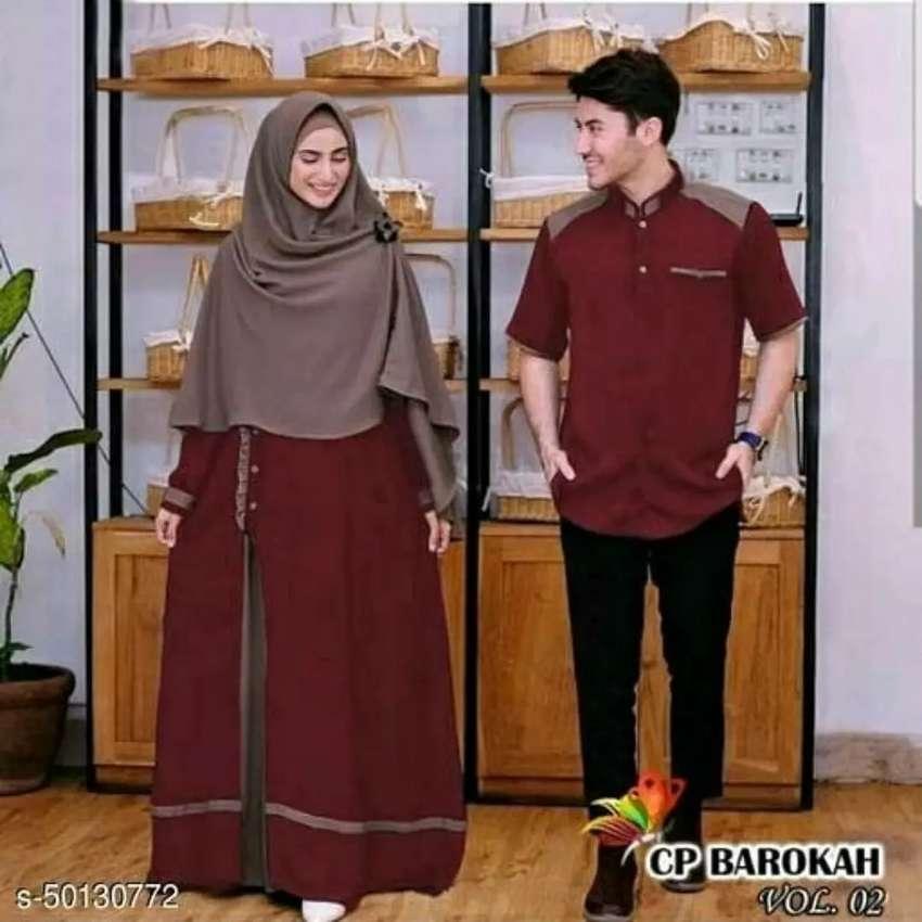 Gamis Couple Pria Dan Wanita Bisa Cod Fashion Pria 772386112
