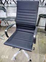 Imported revolving Office Chair leather model brand new
