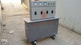 3 phase manual voltage regulator 250kva oil cooled