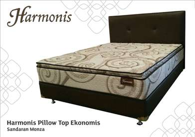 Spring Bed Pillow Top Harmonis By Romance