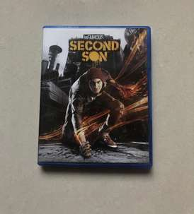 PS4 Infamous Second Sons BluerayDisc