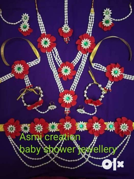 Handmade Products For Haldi And Baby Shower Jewellery Women