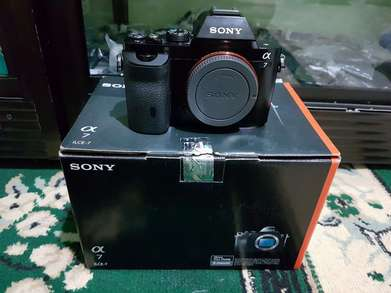 Sony A7 Mark I Body Only Bening Fullset [ bokehKamera ]