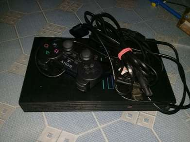 jual ps2 fat tebal flasdish 32 gb full game
