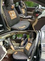 LV And GUCCI Car Seat Cover