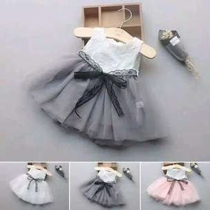 Dress bayi abu2