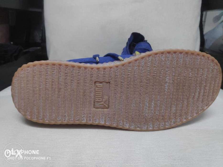 check out 14f94 6dbc7 original mall pull out puma creepers by rihanna for sale in ...