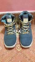 Blue and Grey shade Army Long Shoes