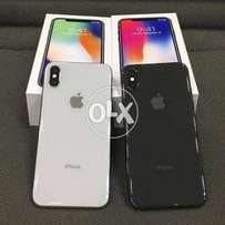 Iphone X factory unlock 64gb full box facetime