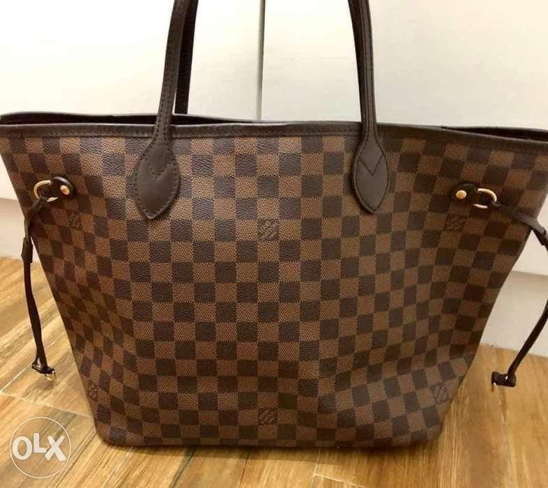 Authentic Louis Vuitton Neverfull MM damier ebene canvas in Quezon ... 5e3102e8760ce