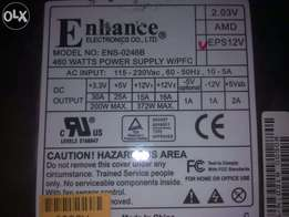Enchance 460W Gaming power supply for sell just like new condition...