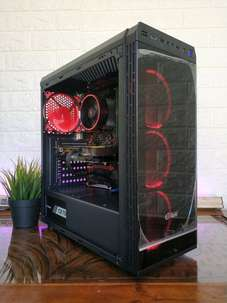 pc game ryzen 7 1700 ram 16gb gtx 1070 cpu gaming komputer render 3D