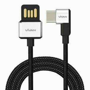 Vivan BWC100 Data Cable Gamers Fast Charge 3A Type-C (100cm)