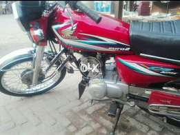 Honda CG125 2015 Neat and clean complete documents and its run 120kmh