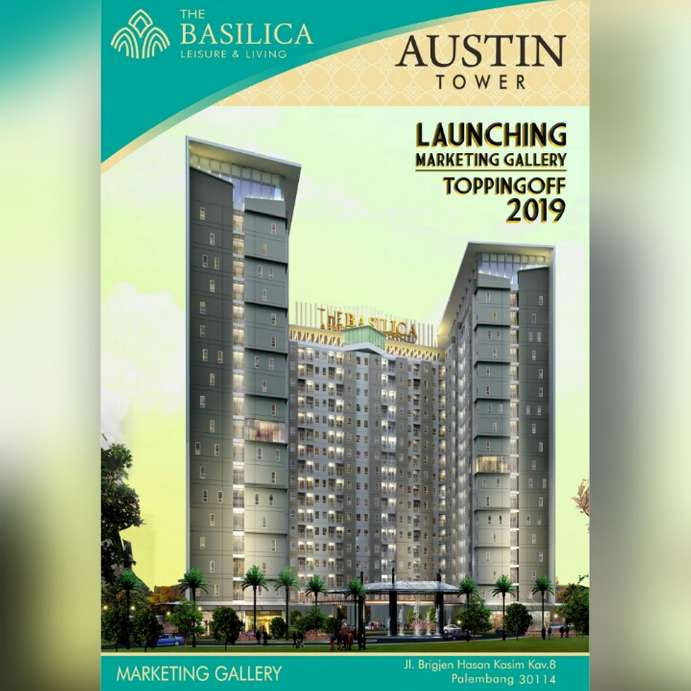 austin tower palembang apartment maxius terbaru