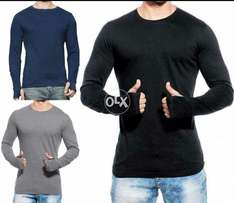 Pack of 3 thumb style t shirts