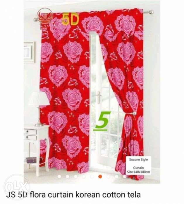 5D Korean Curtain No Ring