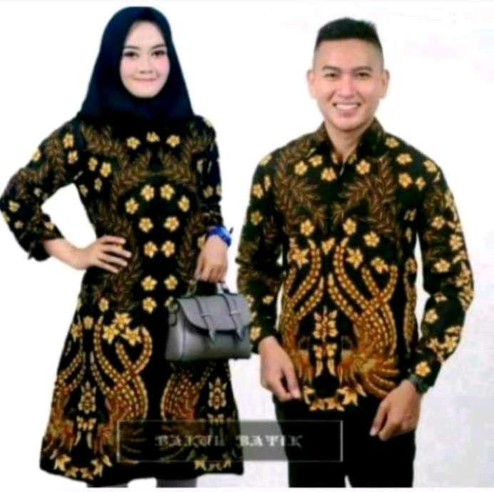 couple batik tren baru