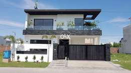 Facing park 11 Marla Brand New Super luxury Bungalow Available for you