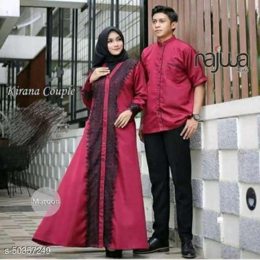 Busana Muslim Muslimah Couple Bisa Bayar Di Rumah Fashion Pria 782283767