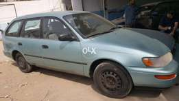 Toyota corolla 1995 model american left hand auction