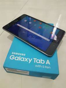 Samsung galaxy Tab A with s pen normal mal nominus lengkap