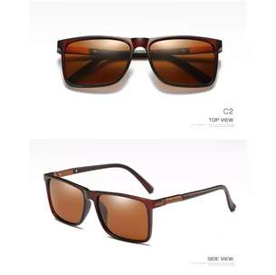 Sunglasses Perfe Polarized Dudukan Pegas UV400 Coklat