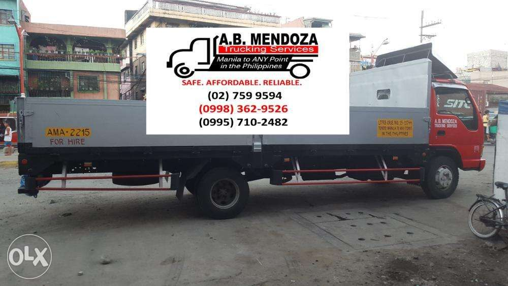 Truck For Rent >> Dropside Truck For Rent Delivery Of Construction Materials In Manila