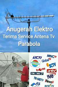 Jasa Pasang Antena Tv HD U 19 + Pararel