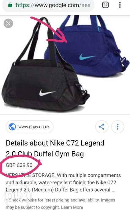 Nike C72 Legend 2.0 Club Duffel Gym Bag Weekend Sports in Marikina ... 8963504a7b976