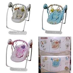 bouncer swing automatic babyelle 2 fungsi( musik,timer)
