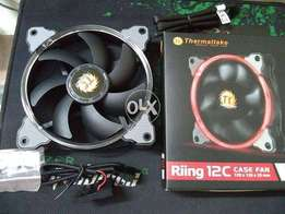 Thermaltake Riing 12C Radiator Fan (Red LED) New For Sell