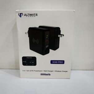 Ultimate Power WX8 Pro 3in1 QC PD Powerbank + Wall Charger + Wireless