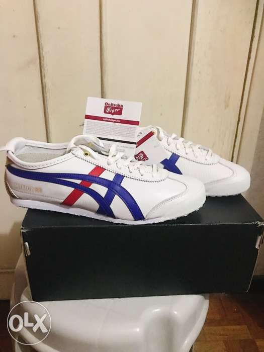 reputable site b73db f5ebd Onitsuka Tiger (White-Blue-Red-Gold) Mexico 66 (Authentic ...