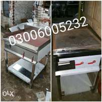 This is hot plate 24inches pilot system/we have pizza oven/deep fryers