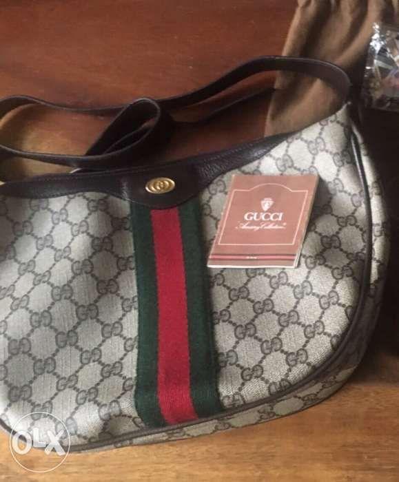 aba242035 authentic Gucci web GG monogram supreme bag chanel LV prada Hermes ...